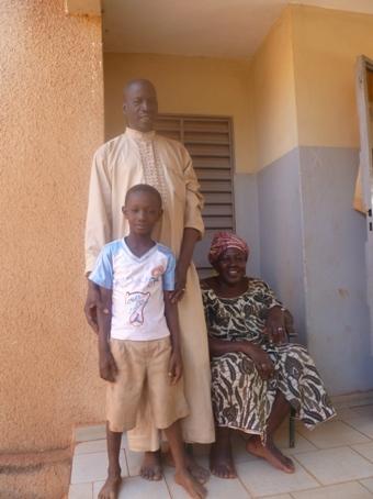 Konate, sa femme et Rahim