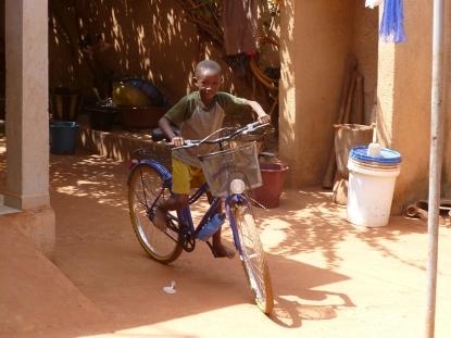 Rahim on a my (then) new bike!